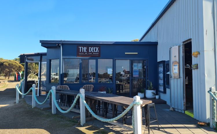 The Deck Cafe American River