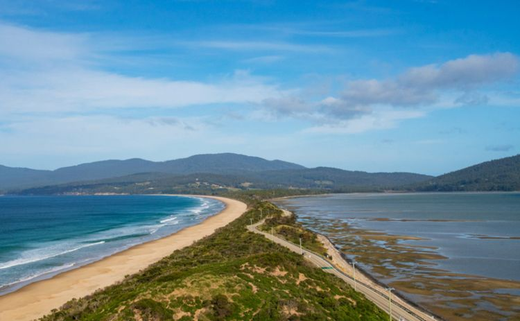 The neck on Bruny Island Tasmania