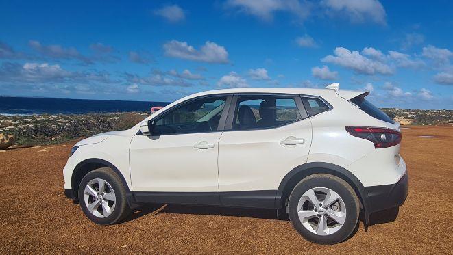 rental car of choice on Kangaroo Island