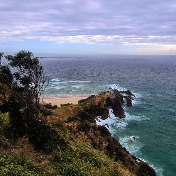 Coastal walk in NSW - Byron Bay
