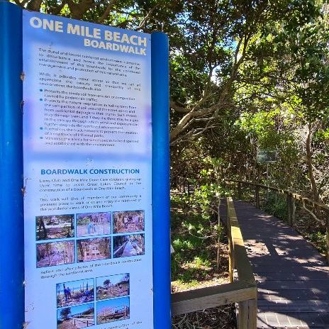 One Mile Beach Boardwalk Forster