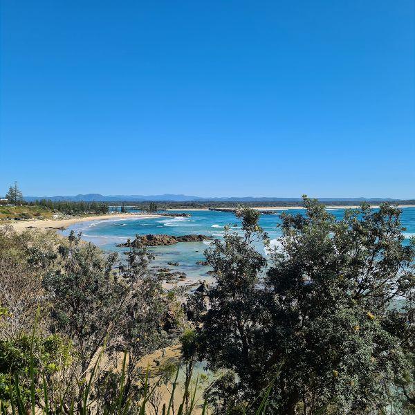 Port Macquarie coastal walk views