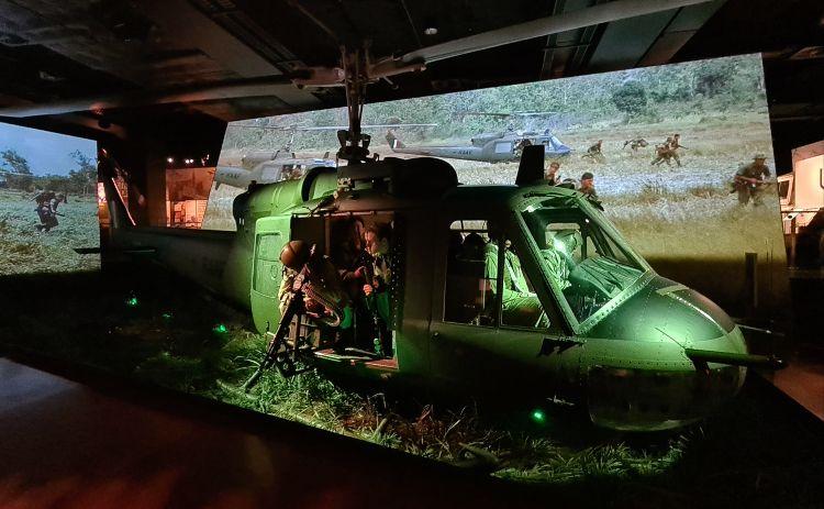 Australian War Memorial Canberra Chopper