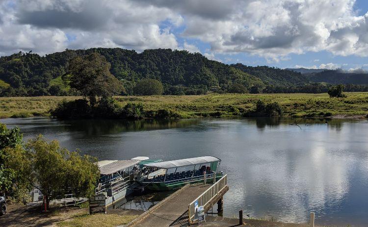 Crocodile Express Daintree River Chantell Collins