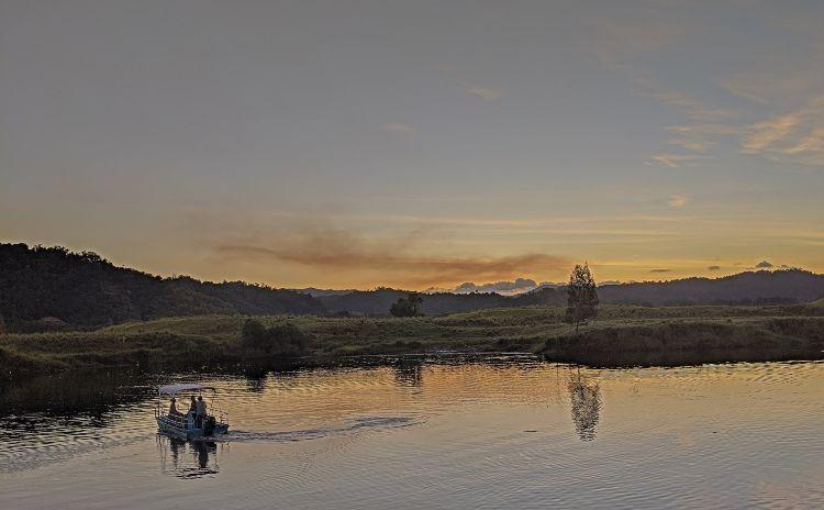Daintree River Sunset North Queensland