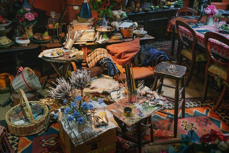 Margaret Olley painting chair Murwillumbah