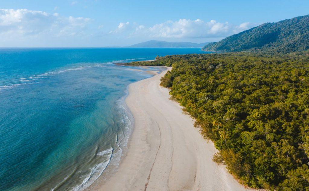 Myall Beach Cape Tribulation Queensland