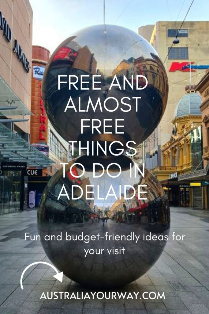 Adelaide Free Things to do