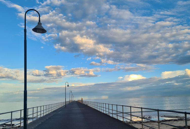 Glenelg Beach Pier Adelaide