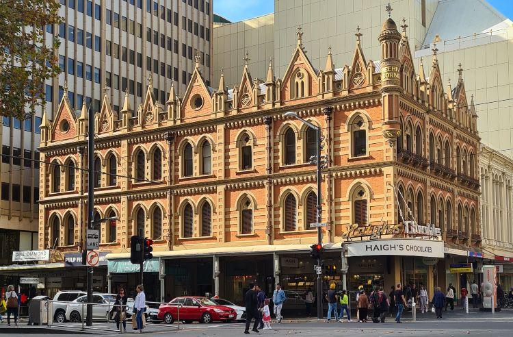 Haighs Beehive Building Adelaide free things