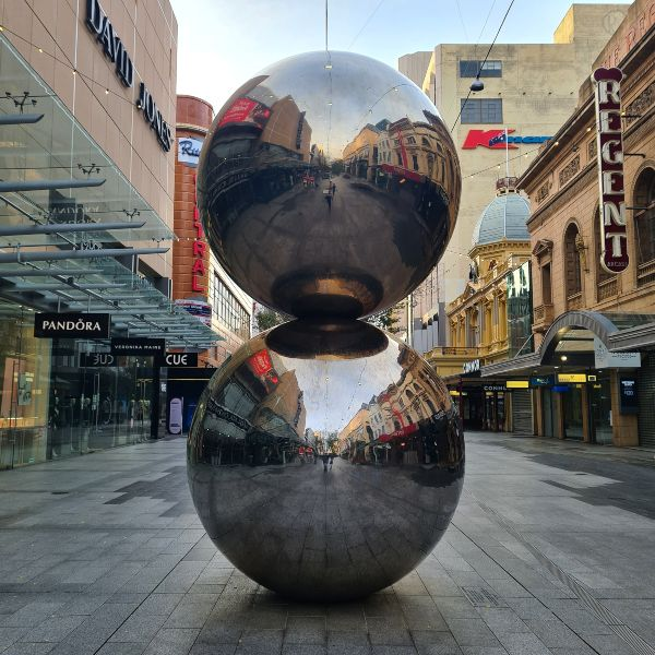 Malls Balls Rundle Mall Adelaide