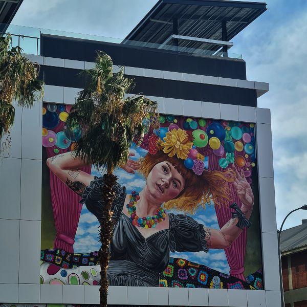 Sia mural adelaide Jasmine crisp 1